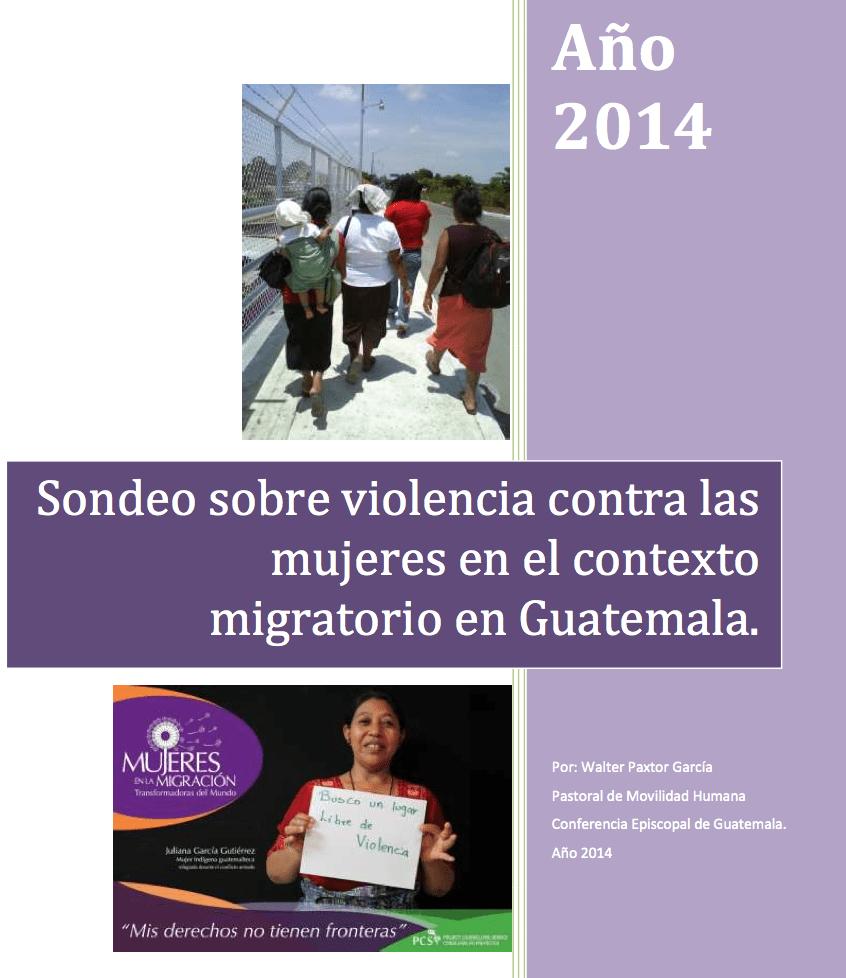 Sondeo Violencia Mujeres