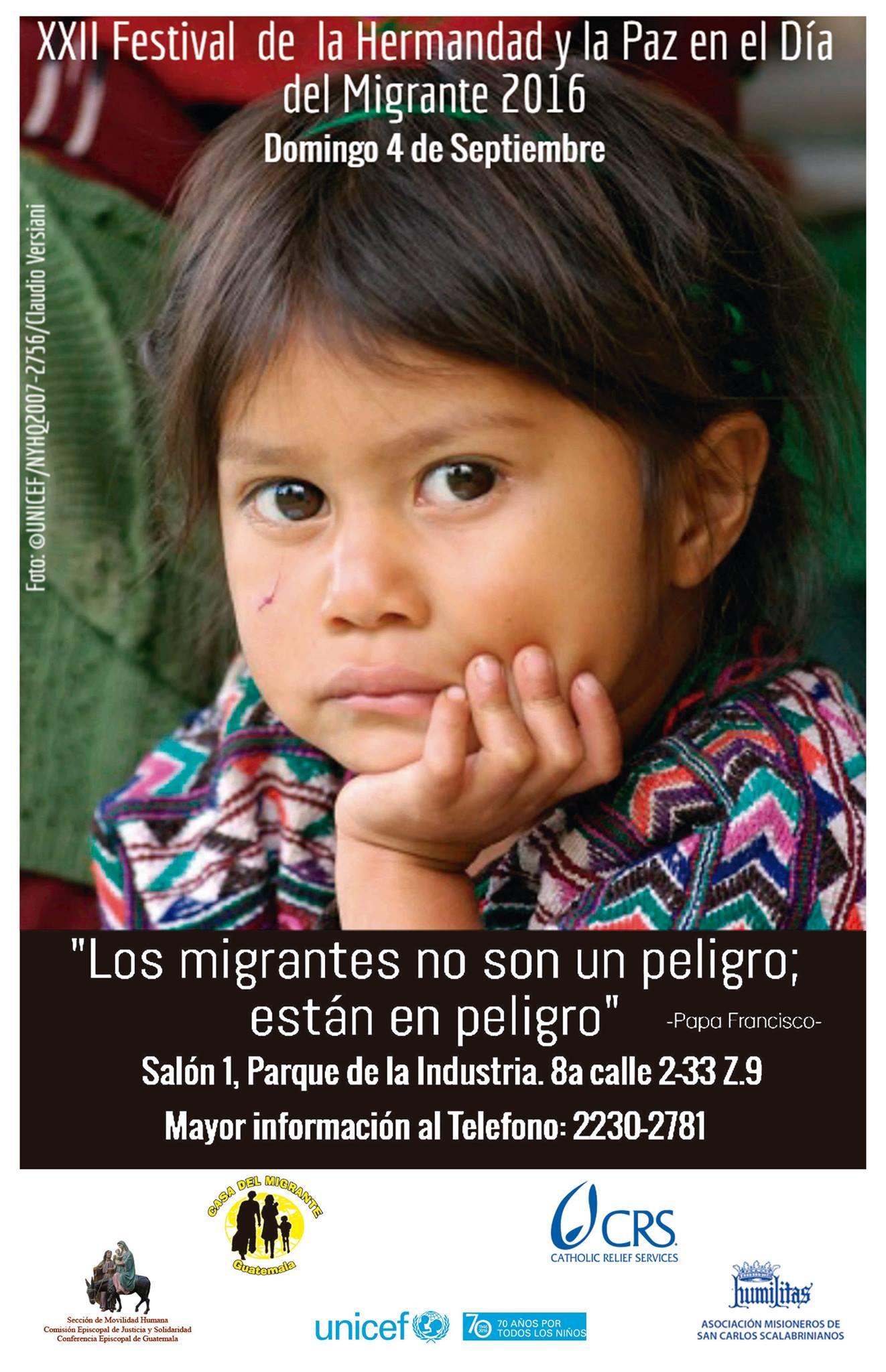 Festival del día del migrante