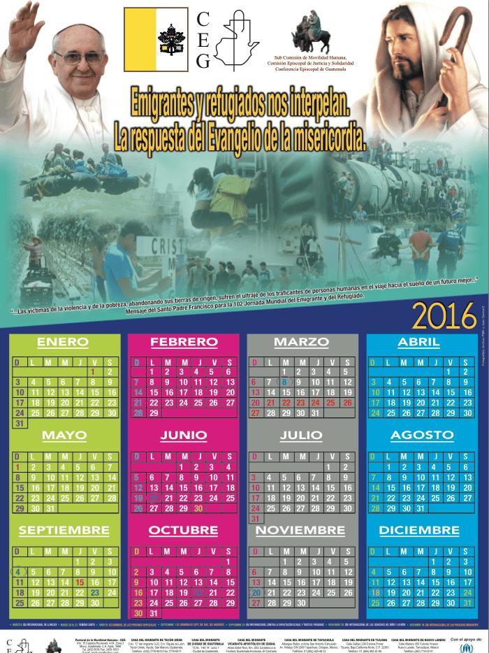 Calendario 16